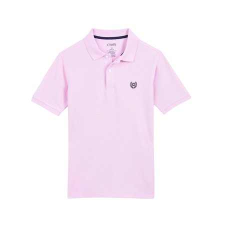 Chaps Short Sleeve Solid Polo (Little Boys & Big (Chaps Golf Shirt)