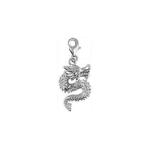 Doma Jewellery DJS01682 Sterling Silver Charm - Dragon
