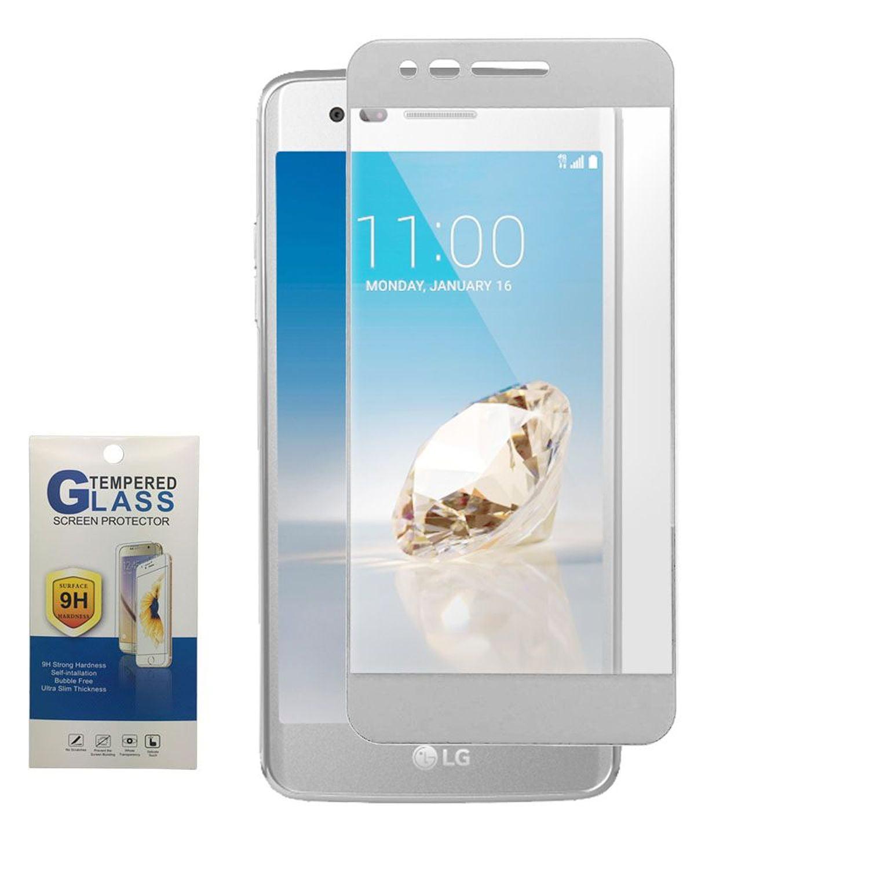 LG Aristo Screen Protector, LG K8 2017 Screen Protector, LG K4 Screen Protector, by Insten Tempered Glass Screen Protector LCD Film For LG Aristo/Fortune/K4 (2017)/K8 (2017)/LV3/Phoenix 3