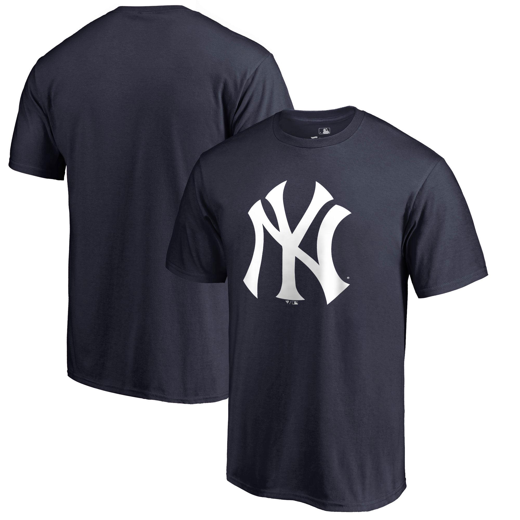 New York Yankees Primary Logo T-Shirt - Navy