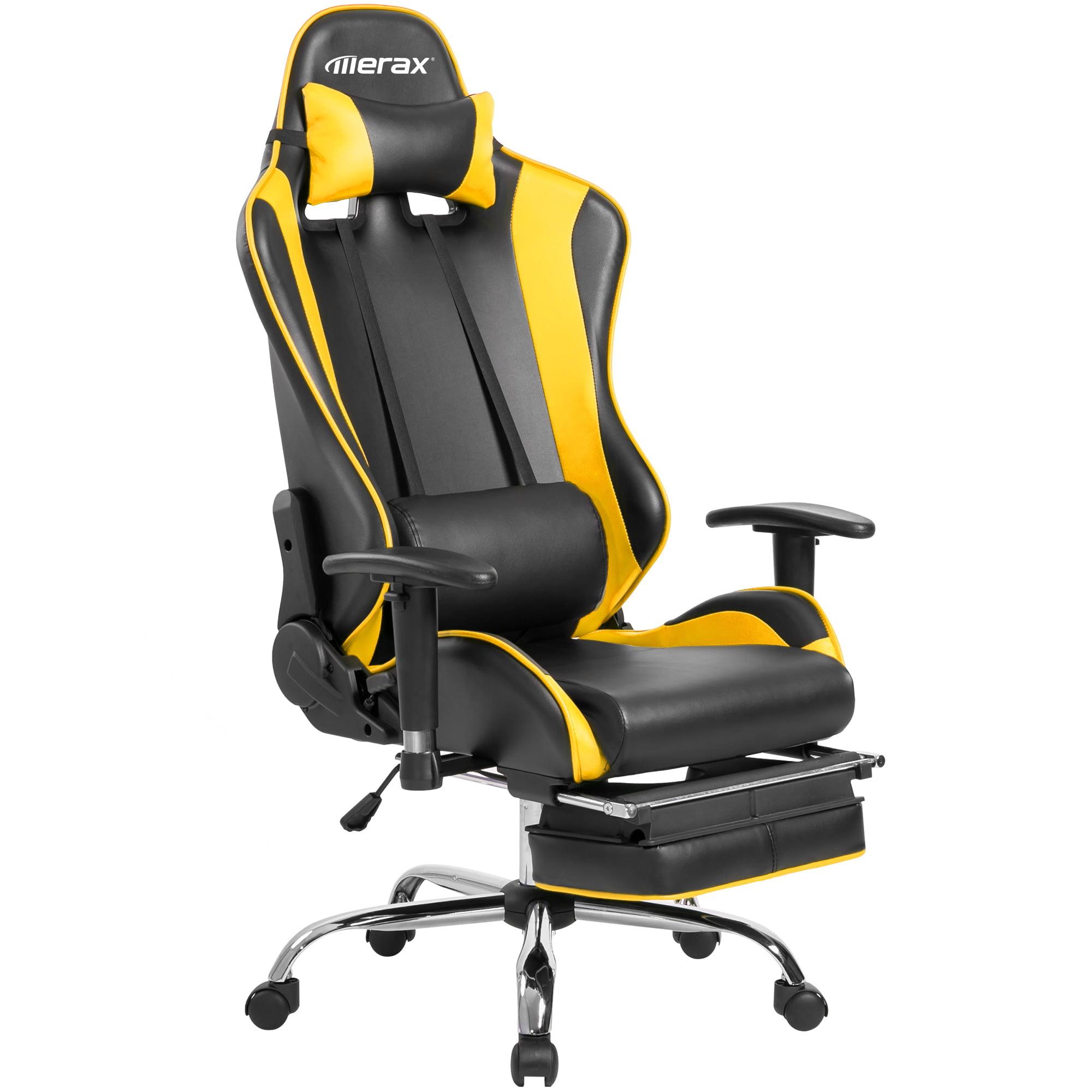 Merax High-Back Ergonomic Racing Gaming Office Chair Recliner