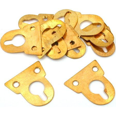 (12 Brass Clock Wall Hanger Clockmaker Repair Parts, This is a new set of 12 assorted brass and steel clock hangers By FindingKing)