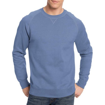 Hanes Mens Nano Premium Soft Lightweight Fleece Sweatshirt