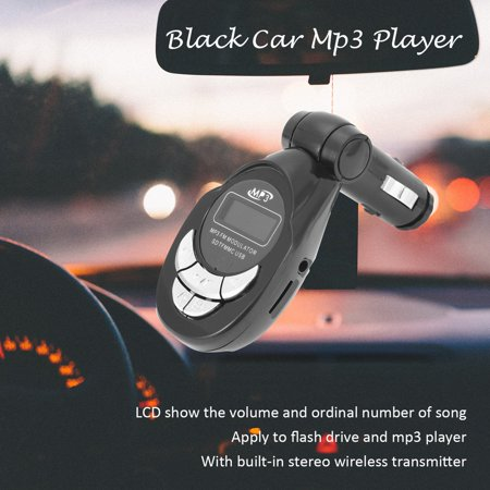 4 in1 Car MP3 Player Wireless FM Transmitter Modulator USB CD MMC Remote - image 3 de 6