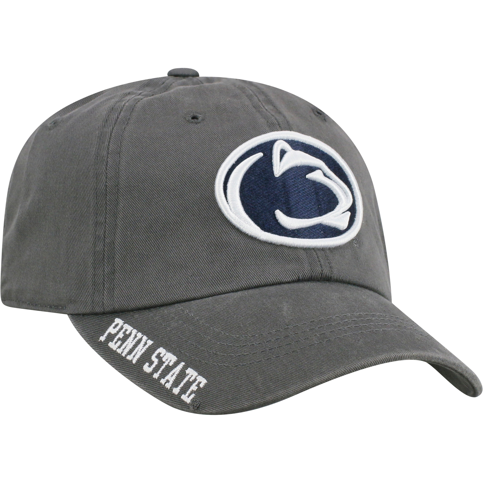 Men's Russell Charcoal Penn State Nittany Lions Washed Adjustable Hat - OSFA