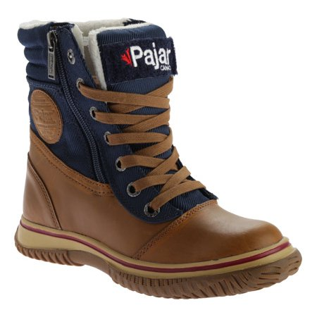 Pajar Leslie Zip Up Leather Winter Snow Boot - Womens