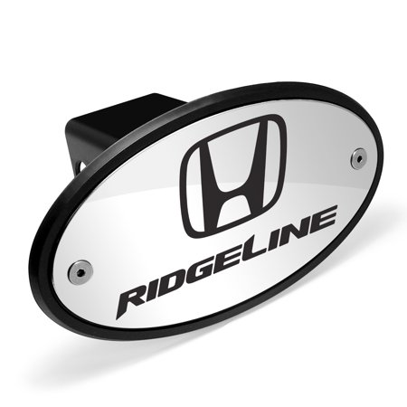Honda Logo Ridgeline Chrome Metal Plate 2 inch Tow Hitch Cover
