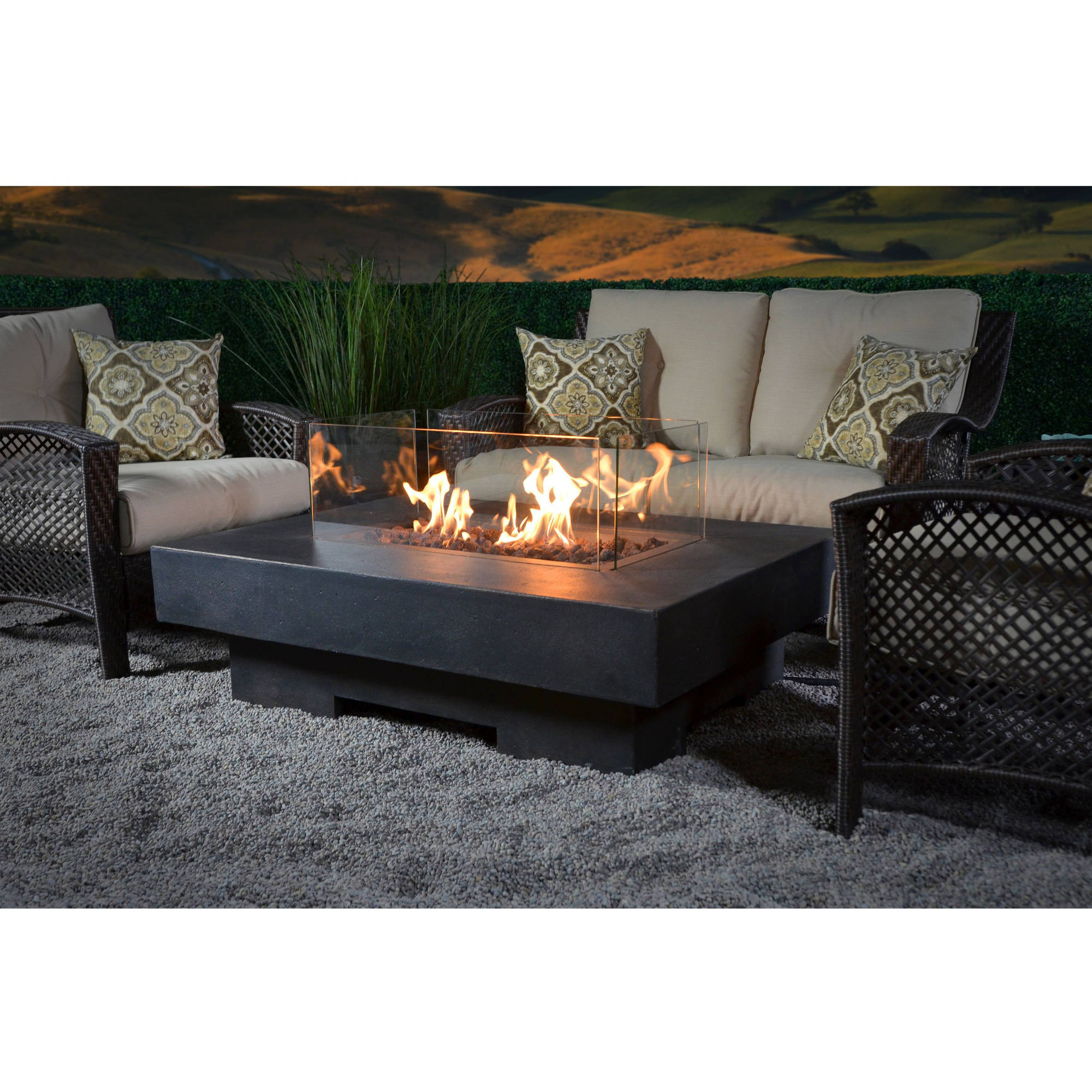 Better Homes and Gardens Mason Heights Gas Fire Pit Walmartcom