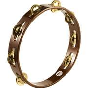 Meinl Wood Tambourine Brass Jingles 1 Row African