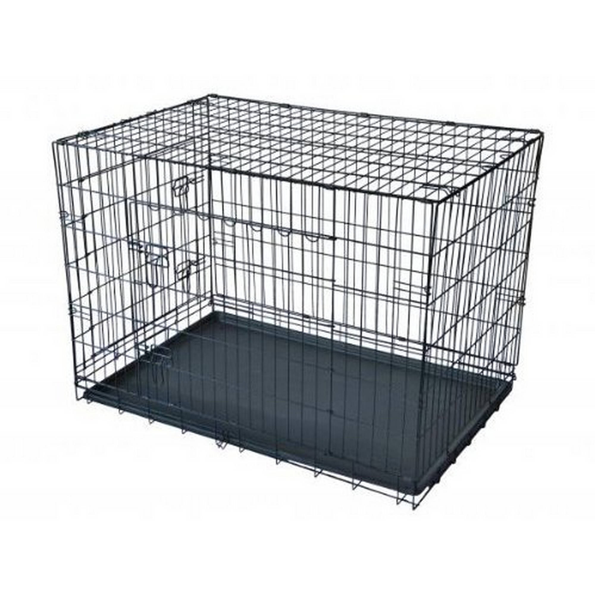 Aleko SDC-2D-48P 2-Door Dog Crate Cage