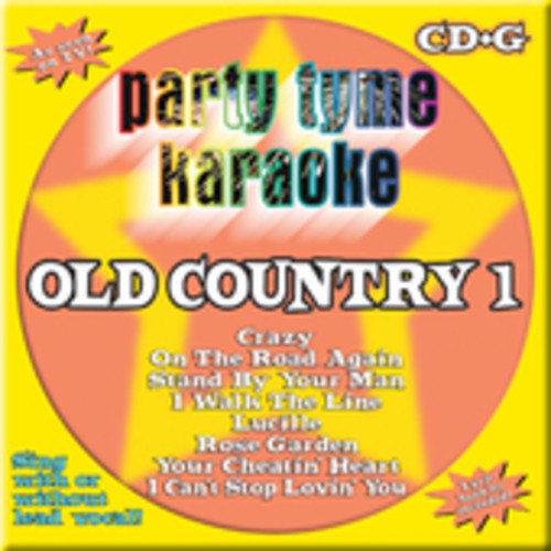 Party Tyme Karaoke: Old Country 1