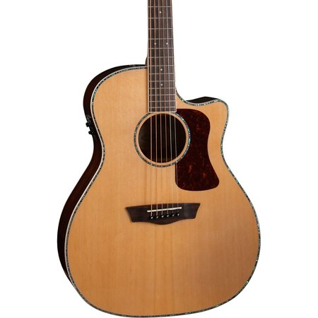 Washburn HG26SCE-O Heritage Grand Auditorium Acoustic-Electric Guitar Natural
