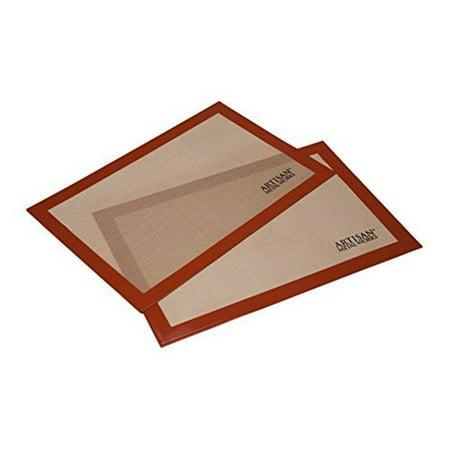 "Artisan (2 pk.) Non-Stick Silicone Baking Mat Set, 16.5"" x 11"""