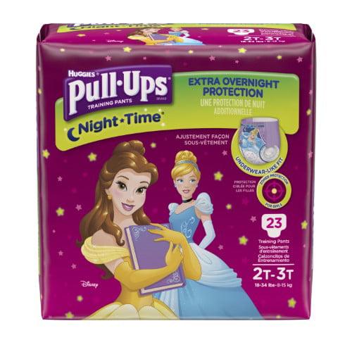 Huggies Pull-Ups Night Time Training Pants (Pack of 4)