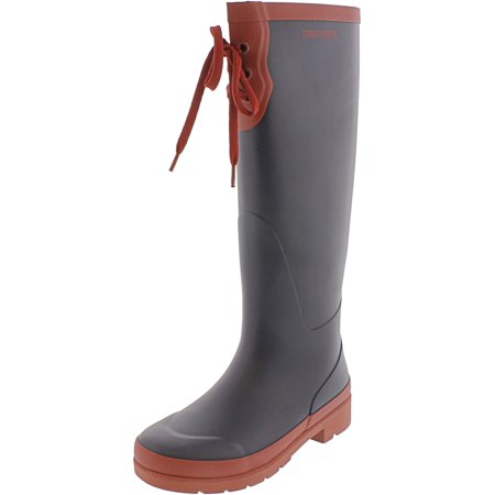 Tretorn Women's Lacey Rubber Night / Bordeaux Knee-High Rain Boot - 4M - image 1 of 3