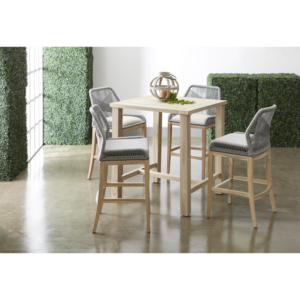 Orient Express Furniture Loom Outdoor Barstool
