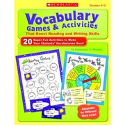 Scholastic Vocabulary Games and Activities That Boost Reading and Writing Skills