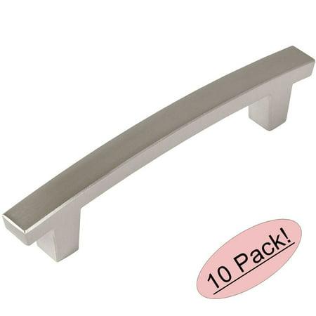 Cosmas 5236SN Satin Nickel Contemporary Cabinet Hardware Handle Pull - 3-1/2