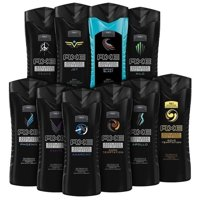 10-Pack AXE Shower Gel / Body Wash 8.45 oz (Assorted Scents)