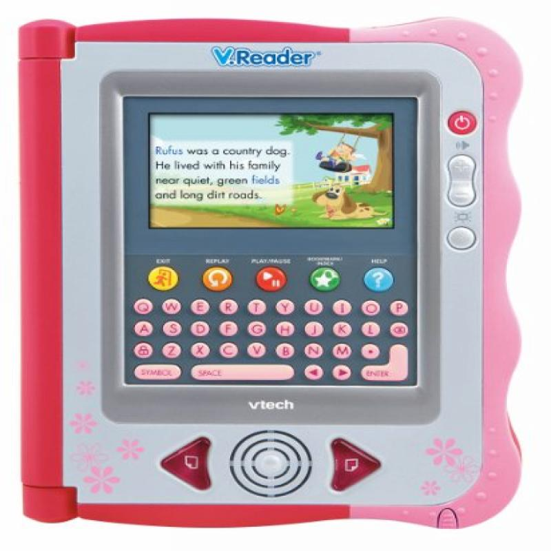 VTech V.Reader Animated E-Book System Pink by VTech