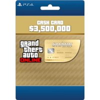 Rockstar Games GTA V Whale Shark Card PS4 (Email Delivery)
