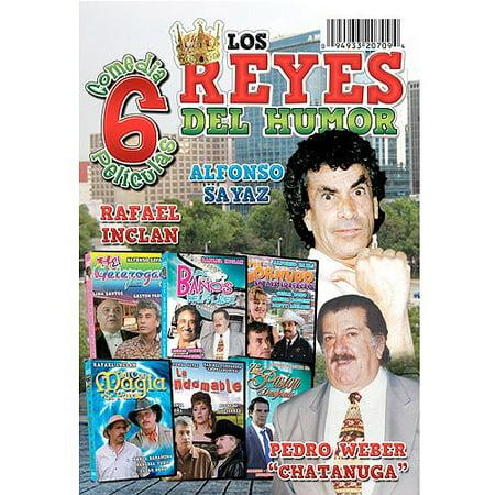 Reyes Del Humor: 6 Peliculas - Reyes Del Humor Halloween