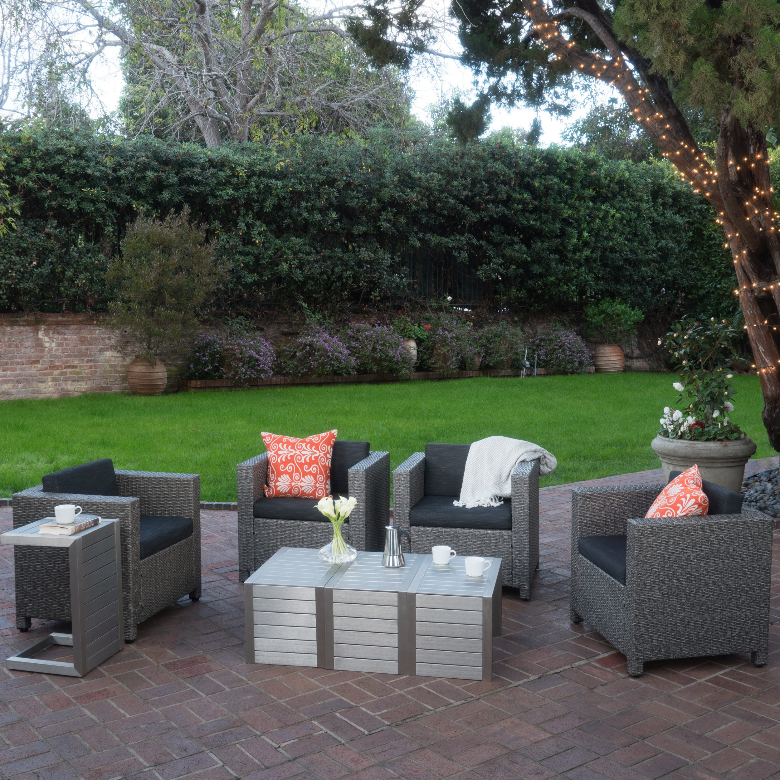 Christopher Knight Home Puerta Outdoor 8-piece Seating Se...