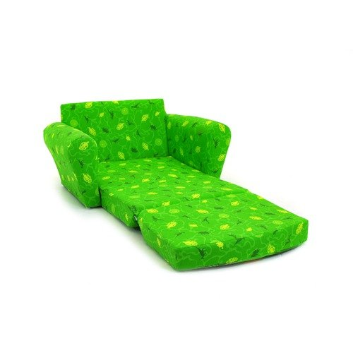 Kidz World Jim Henson Dinosaur Train Tiny Sleepover Sofa In Green