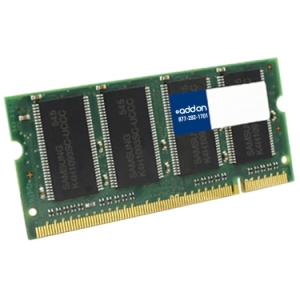 AddOn - Memory Upgrades 8GB DDR3-1333MHZ 204-Pin SODIMM F/HP Notebooks - 8 GB (1 x 8 GB) - DDR3 SDRAM - 1333 MHz DDR3-1333/PC3-10600 - Non-ECC - Unbuffered - 204-pin SoDIMM
