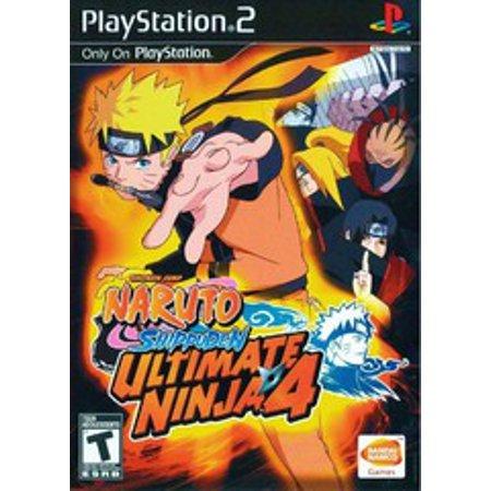 Ultimate Ninja 4: Naruto Shippuden - PS2 Playstation 2