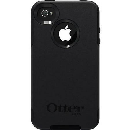 new concept 7bbf4 9855e OtterBox Apple iPhone 4/4s Case Commuter Series, Black
