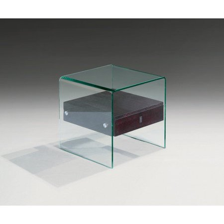 creative images international bent glass end table