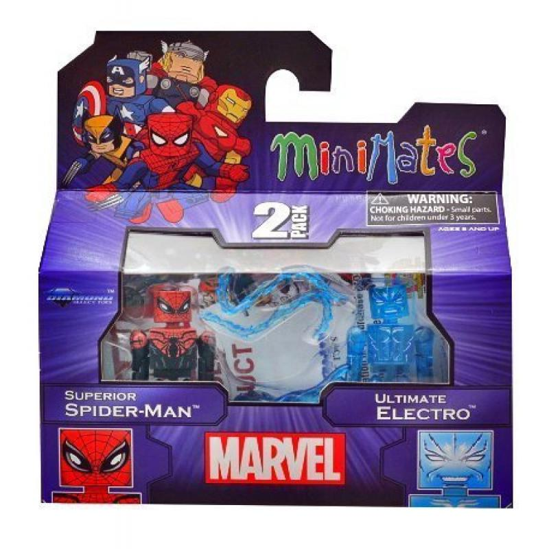 Marvel Minimates 2-Pack: Superior Spider-Man and Ultimate...