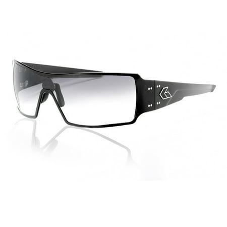 43a0288225f3 Gatorz Darth BLACK Billet Aluminum Scratch Resistant Grey Fade Lens  Sunglasses - Walmart.com