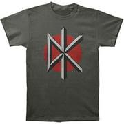Dead Kennedys Men's Dead Kennedys Slim Fit T-shirt Large Grey