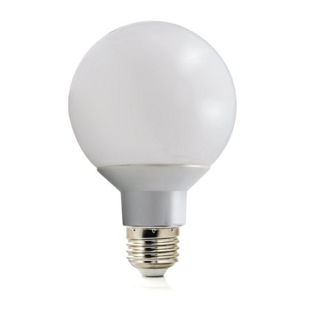 Led Globe Vanity Lights : 12 Pack LED G25 Vanity Globe Light Bulb - DIMMABLE - 6W (40 Watt Equivalent) Warm White (2700K ...