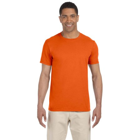 1d68fd34 Gildan - Gildan G640 Softstyle Men's T-Shirt -Orange-X-Large - Walmart.com