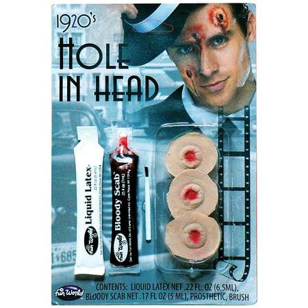 Hole in Head FX Kit Halloween Accessory - Fx Wax Halloween