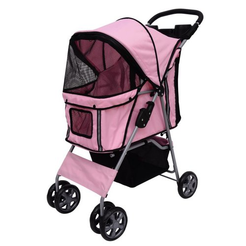 MDOG2 4-Wheel Front & Rear Entry Pet Stroller