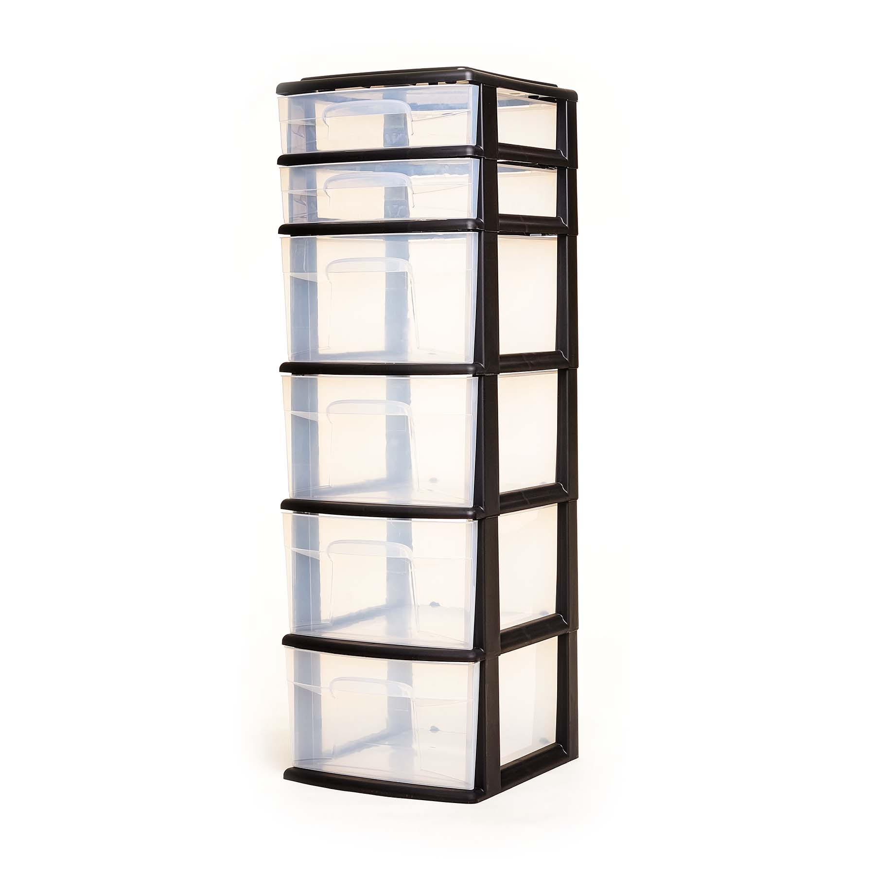Homz 6 Drawer Medium Tower, Set of 1
