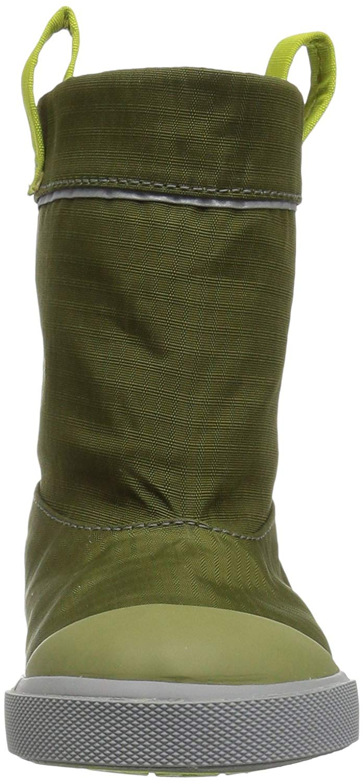 See Kai Run Kids' Montlake WP 11 Rain Boot, Green, Size 11 WP M Little Kid 012066