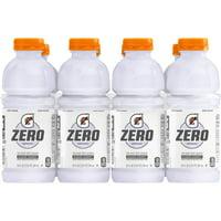 Gatorade G Zero Thirst Quencher, Glacier Cherry, 20 oz Bottles, 8 Count