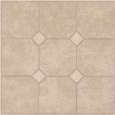 Armstrong Units Self-Adhesive Floor Tile, Sand, 12X12 In., .045 Gauge