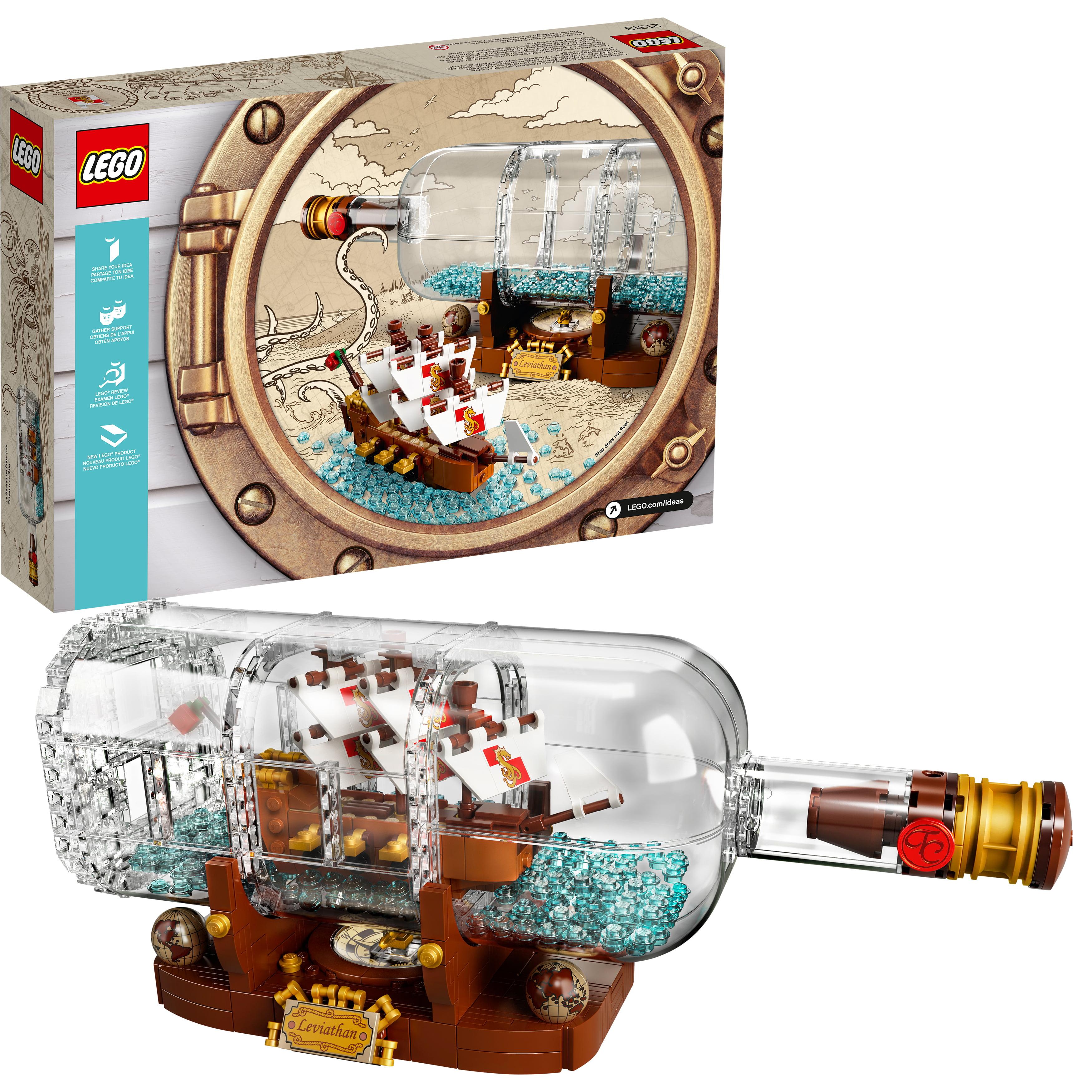 Lego Ideas Ship in a Bottle 21313 by LEGO System Inc