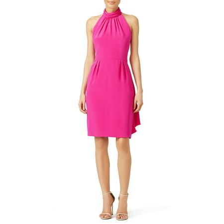 Carmen Marc Fuschia Dress (8) (Fuschia Dresses)