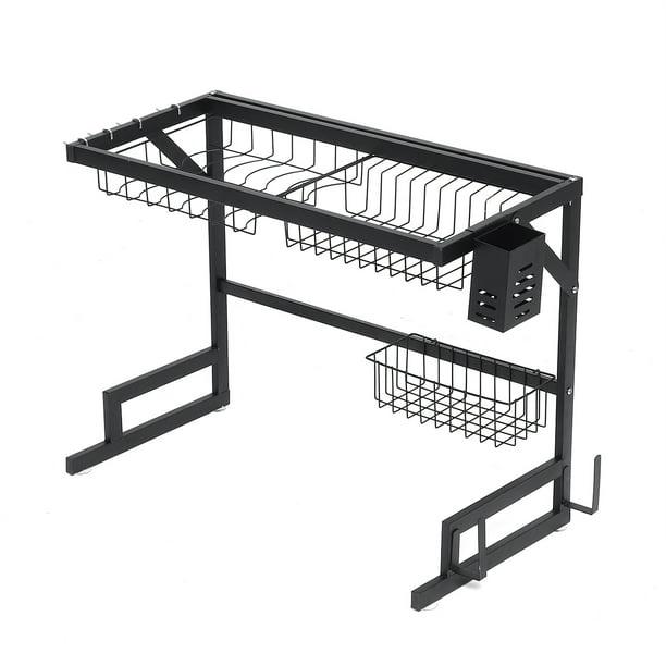 Stainless Steel Dish Drying Rack,Over Sink Drain Rack, Dish Drainers Shelf Holder, for Home Kitchen Counter Space-Saving - Walmart.com - Walmart.comListsWalmart+Gift Finder