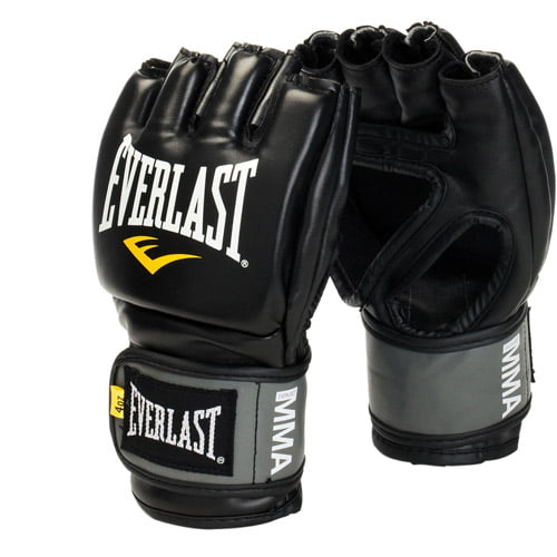 Everlast Pro Style Competition Grappling Gloves, Black by Everlast