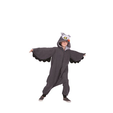 Oxford Owl Child Funsie Costume - Kids Owl Costume