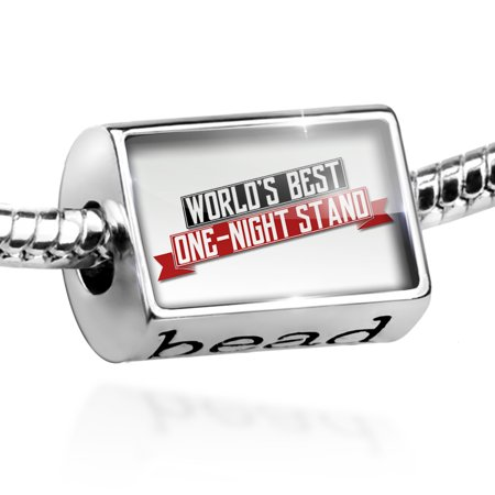 Bead Worlds Best One-night stand Charm Fits All European