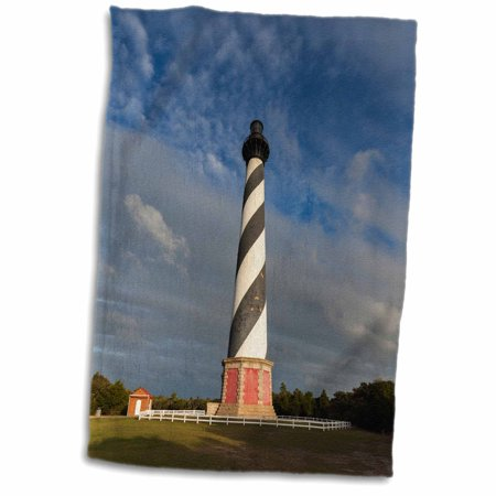 3dRose North Carolina, Cape Hatteras Lighthouse - Towel, 15 by 22-inch